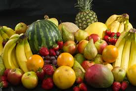 piles of fruit options for a camping trip